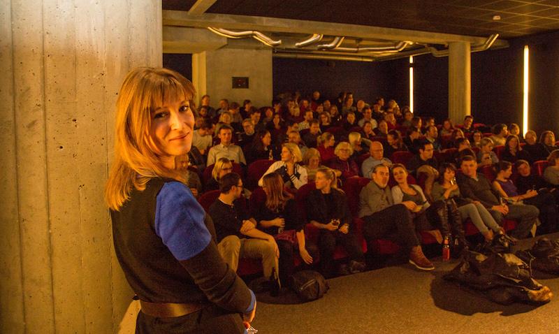 Filmansage beim Polnischen Filmfestival Cinepol 2015 im Monopol Kino München
