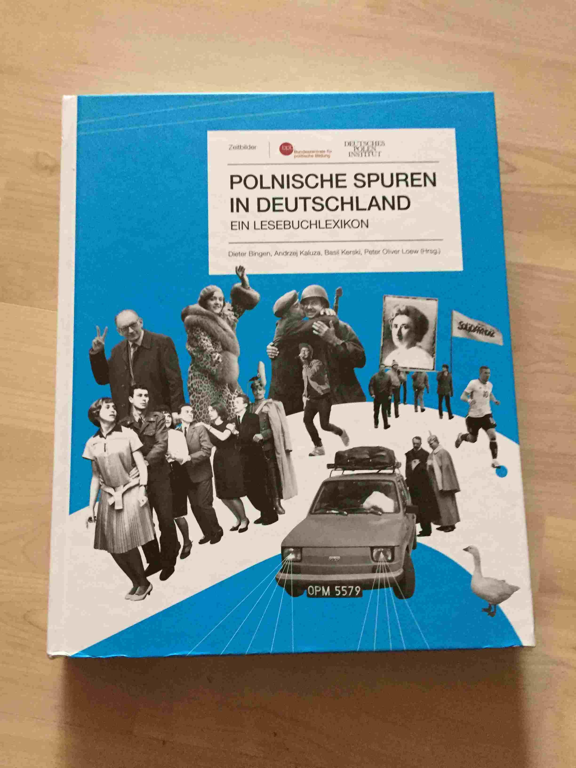 Cover Von Polnische Spuren In Deutschland